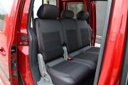 Фото 3 - Чехлы MW Brothers Volkswagen Caddy III (2004-2015), красная нить
