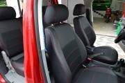 Фото 4 - Чехлы MW Brothers Volkswagen Caddy III (2004-2015), красная нить