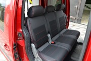 Фото 5 - Чехлы MW Brothers Volkswagen Caddy III (2004-2015), красная нить