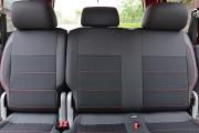 Фото 6 - Чехлы MW Brothers Volkswagen Caddy III (2004-2015), красная нить