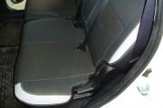 Фото 3 - Чехлы MW Brothers Mitsubishi Outlander XL (2006-2012), светлые вставки + серая нить