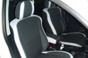 Фото 7 - Чехлы MW Brothers Mitsubishi Outlander XL (2006-2012), светлые вставки + серая нить