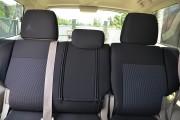Фото 2 - Чехлы MW Brothers Mitsubishi Pajero Vagon 4 (2006-н.д.), серая нить