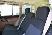 Фото 8 - Чехлы MW Brothers Mitsubishi Pajero Vagon 4 (2006-н.д.), серая нить