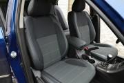 фото 8 - Чехлы MW Brothers Hyundai Sonata (NF) (2004-2010), серая нить