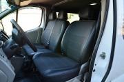 Фото 2 - Чехлы MW Brothers Nissan Primastar (2001-2014) грузовой (1+2), серая нить