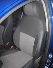 MW Brothers KIA Rio III Hatchback (2011-2017), синяя нить