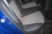 Фото 3 - Чехлы MW Brothers KIA Rio III Hatchback (2011-2017), синяя нить