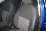 Фото 4 - Чехлы MW Brothers KIA Rio III Hatchback (2011-2017), синяя нить