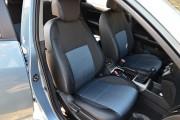 Фото 8 - Чехлы MW Brothers Hyundai Elantra IV (HD) (2006-2011), синяя нить