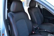 Фото 6 - Чехлы MW Brothers Mazda 3 II (2009-2013), красная нить