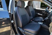 Фото 5 - Чехлы MW Brothers Hyundai Elantra IV (HD) (2006-2011), красная нить