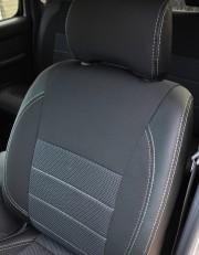 MW Brothers Nissan NP300 II Double Cab (2007-н.д.), серая нить