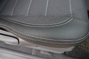 Фото 2 - Чехлы MW Brothers Nissan NP300 II Double Cab (2007-н.д.), серая нить