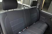 Фото 3 - Чехлы MW Brothers Nissan NP300 II Double Cab (2007-н.д.), серая нить