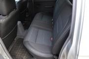 Фото 8 - Чехлы MW Brothers Nissan NP300 II Double Cab (2007-н.д.), серая нить