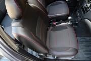 Фото 8 - Чехлы MW Brothers ZAZ Vida Hatchback (2012-н.д.), красная нить