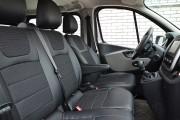 Фото 6 - Чехлы MW Brothers Opel Vivaro II (2014-н.д.) грузовой (1+2), серая нить