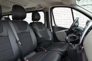 Фото 7 - Чехлы MW Brothers Opel Vivaro II (2014-н.д.) грузовой (1+2), серая нить