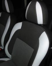 MW Brothers Nissan Note I (2005-2014), светлые вставки + серая нить