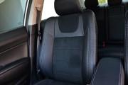 фото 8 - Чехлы MW Brothers Honda Civic 8 4D (2006-2012), серая нить