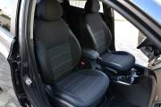 Фото 3 - Чехлы MW Brothers Hyundai Accent IV (Solaris) Hatchback (2011-2017), серая нить