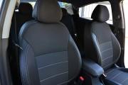 Фото 4 - Чехлы MW Brothers Hyundai Accent IV (Solaris) Hatchback (2011-2017), серая нить