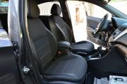 Фото 6 - Чехлы MW Brothers Hyundai Accent IV (Solaris) Hatchback (2011-2017), серая нить