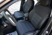 Фото 7 - Чехлы MW Brothers Hyundai Accent IV (Solaris) Hatchback (2011-2017), серая нить