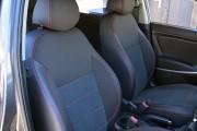 Фото 6 - Чехлы MW Brothers Hyundai Accent IV (Solaris) Hatchback (2011-2017), красная нить