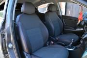 Фото 8 - Чехлы MW Brothers Hyundai Accent IV (Solaris) Hatchback (2011-2017), красная нить