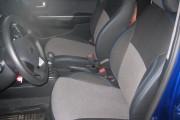 Фото 2 - Чехлы MW Brothers Hyundai Accent IV (Solaris) Hatchback (2011-2017), синяя нить