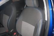 Фото 4 - Чехлы MW Brothers Hyundai Accent IV (Solaris) Hatchback (2011-2017), синяя нить