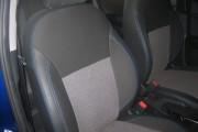 Фото 6 - Чехлы MW Brothers Hyundai Accent IV (Solaris) Hatchback (2011-2017), синяя нить