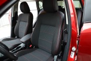Фото 2 - Чехлы MW Brothers Mazda CX-5 (2012-2014), красная нить