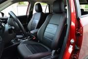 Фото 2 - Чехлы MW Brothers Mazda CX-5 (2012-2014), красная нить (натуральная кожа)
