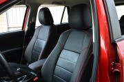 Фото 3 - Чехлы MW Brothers Mazda CX-5 (2012-2014), красная нить (натуральная кожа)