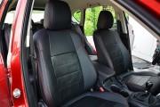 Фото 6 - Чехлы MW Brothers Mazda CX-5 (2012-2014), красная нить (натуральная кожа)