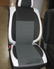 MW Brothers Nissan X-Trail T31 SE, XE (2007-2013), светлые вставки + серая нить