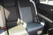 Фото 2 - Чехлы MW Brothers Nissan X-Trail T31 SE, XE (2007-2013), светлые вставки + серая нить