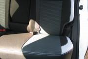 Фото 3 - Чехлы MW Brothers Nissan X-Trail T31 SE, XE (2007-2013), светлые вставки + серая нить