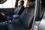 Фото 2 - Чехлы MW Brothers Lexus LX 470 (1998-2007), серая нить