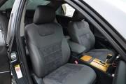 Фото 3 - Чехлы MW Brothers Toyota Camry XV 40/45 (2006-2011), графит + серая нить