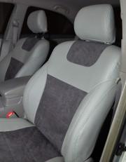 MW Brothers Toyota Camry XV 40/45 (2006-2011), светло-серые + графитовая алькантара