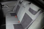 Фото 5 - Чехлы MW Brothers Toyota Camry XV 40/45 (2006-2011), светло-серые + графитовая алькантара