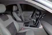 Фото 6 - Чехлы MW Brothers Toyota Camry XV 40/45 (2006-2011), светло-серые + графитовая алькантара