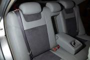 Фото 8 - Чехлы MW Brothers Toyota Camry XV 40/45 (2006-2011), светло-серые + графитовая алькантара