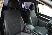 Фото 8 - Чехлы MW Brothers Opel Vectra C (2002-2010), черная нить