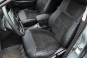 Фото 4 - Чехлы MW Brothers Toyota Avensis II (2002-2008), серая нить