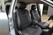 Фото 6 - Чехлы MW Brothers Toyota Avensis II (2002-2008), серая нить